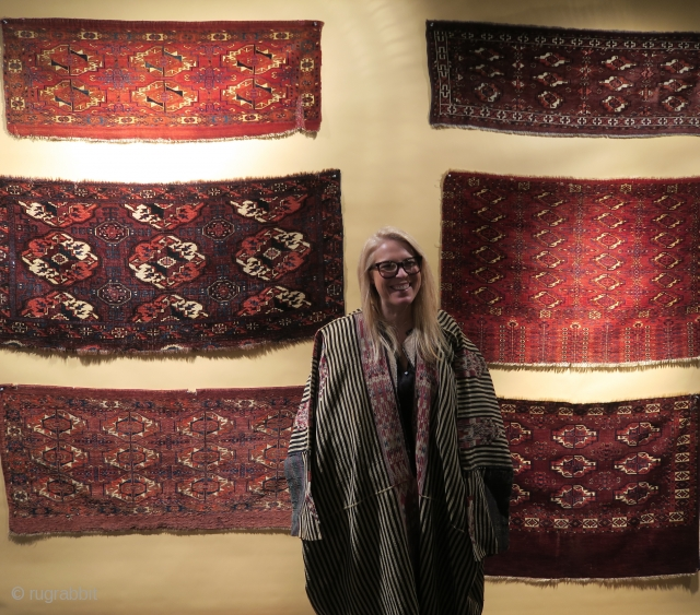 Some rug and textile highlights from San Francisco Tribal & Textile Art Show, 2019  running February 7-10, 2019 Fort Mason Center, San Francisco             http://www.rugrabbit.com/content/san-francisco-tribal-textile-arts-show-2019