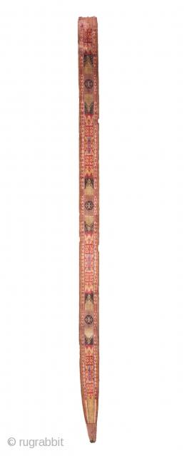 Uzbek Velvet Hair Piece  07 x 153 cm / 2.7 x 60.2 inches