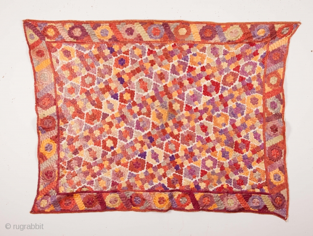Embroidery from Rabat, Morocco
