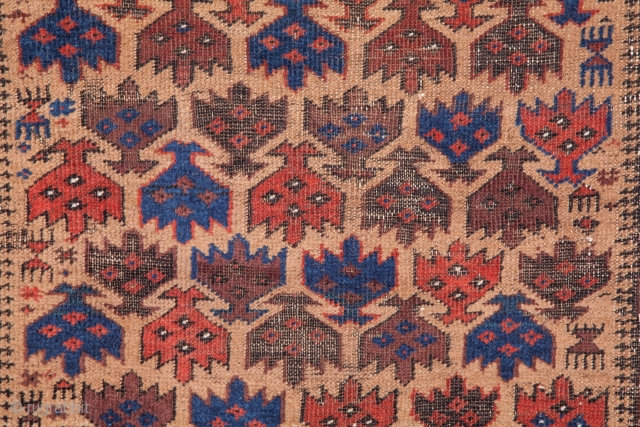 Seljuk Double Headed Eagle by the Baluch 74 x 143 cm / 2'5'' X 4'8''