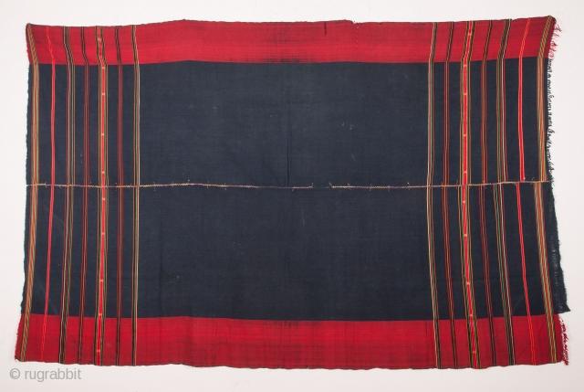 Hazara Silk and Cotton Shawl  152 x 239 cm / 4'11'' x 7'10''