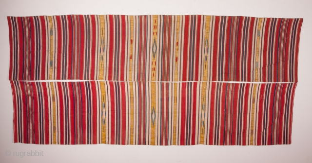 Syrian Cotton and Metal Thread Textile Panels