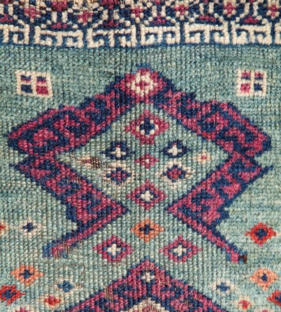 Eastern anatolian Yastik 39 x 66 cm / 1'3'' x 2'1''