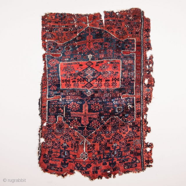 Eastern Anatolian Rug Fragment 114 x 167 cm /3'8'' x  5'5''
