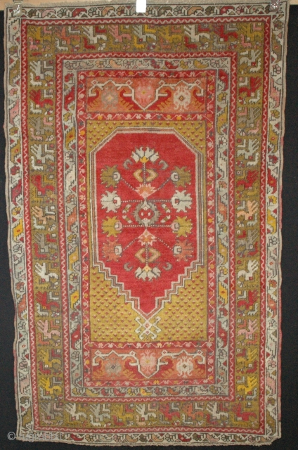 P12 Mudjur 165x100cm, Circa 1900, Good overall condition, three rows of reweaving at one end, as shown in the photo.