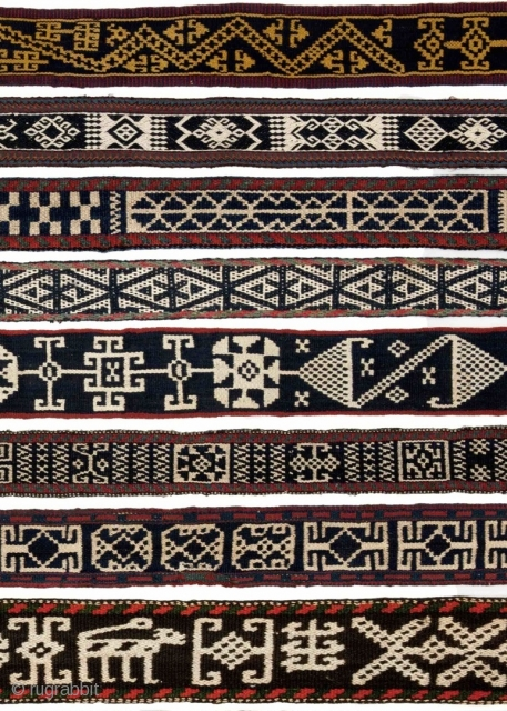 """Lecture:  """"Weavings of Nomads in Iran: Warp-Faced Bands & Related Textiles"""" with Dr. Fred Mushkat, Independent Researcher & Collector, St. Petersburg, FL Saturday, May 21, 2016.  Warp-faced weavings made by nomads in  ..."""