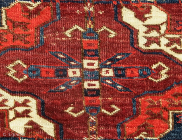 Tekke Main Carpet, 19th C.  Please contact for more images and details.