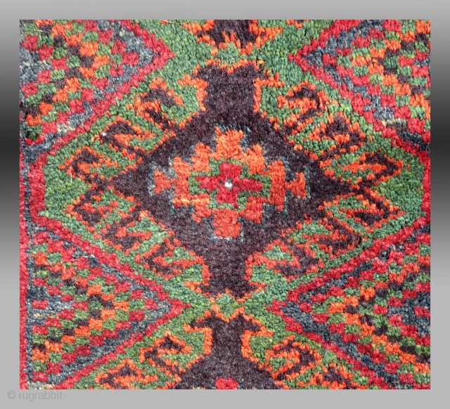 "Baluch ""Balisht"" (pillow cover), SE Persia, circa 1900, 1'6"" x 2'6""