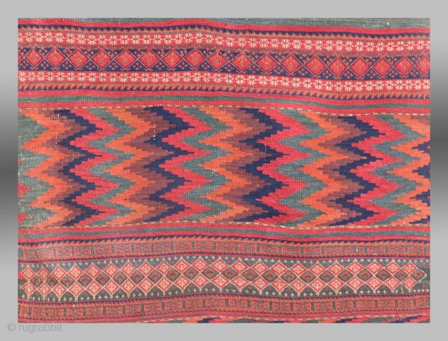 Baluch Kilim, SE Persia, 19th C.