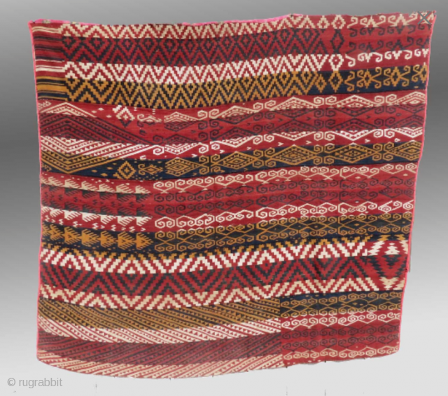 "Uzbek Flat Weave (""Gajari""), Central Asia, 19th C.