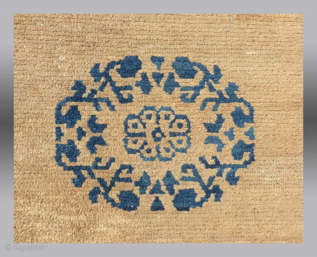 "Tibetan Rug, late 19th/early 20th C., 2' 6"" x 8' 3""