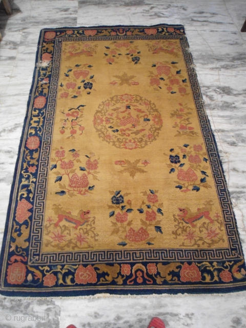 Late 19th century Chinese rug