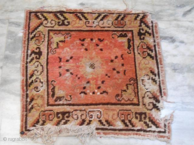 Antique Khotan  rug 2ft x 2ft