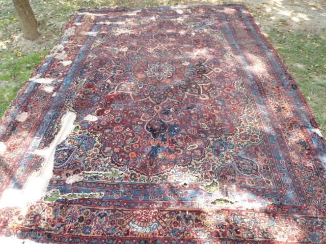 19th Century Birjand meshad carpet