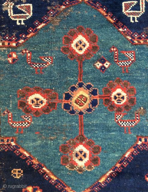 Qasgai shaqarluh Fragmant size 130x60 cm