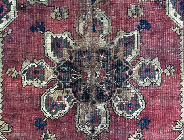 Persian  carpet size 133x113 cm