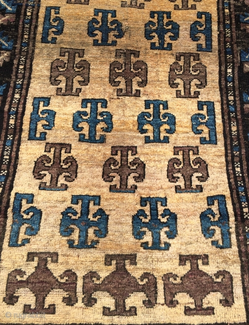 Beluch prayer rug,This rug was made in the 1950s or 1960s  Size 150x82cm