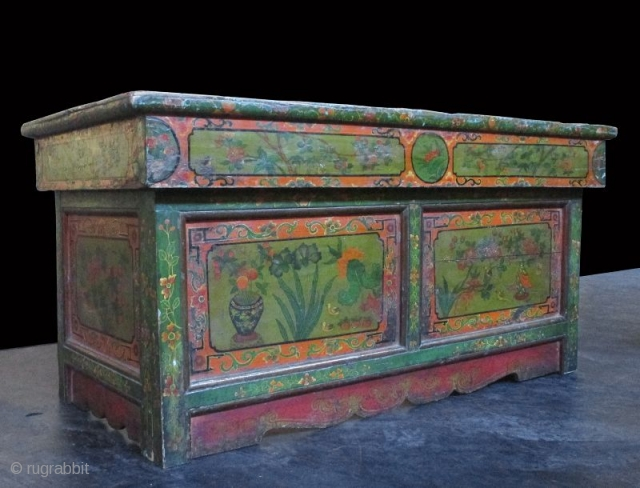 Rare Pair of Traveling Tibetan 18th Century Prayer Tables