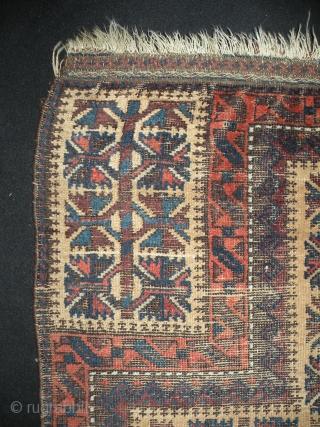 Baluch Prayer Rug, 94x127 cm