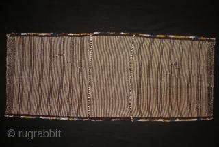 Darashuri Kashkai  Flatwoven Saddle bag,ca 1920,65x157 cm