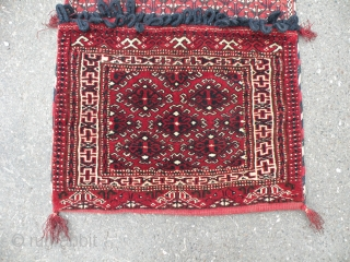 Turkmen Yomud saddle bag, 52x98 cm