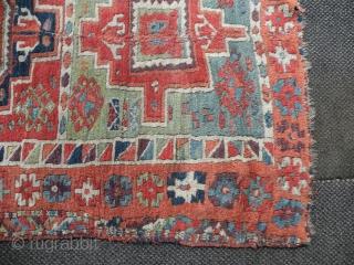 Antique East Anatolian Yurug rug, 120x202 cm