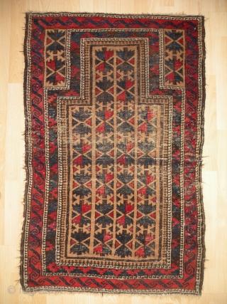 Baluch prayer rugs 82x127 cm, 81x120 cm