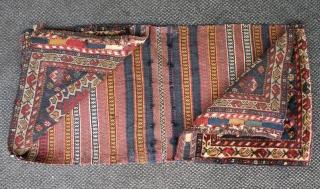 Old south persian saddle bag 50x100 cm