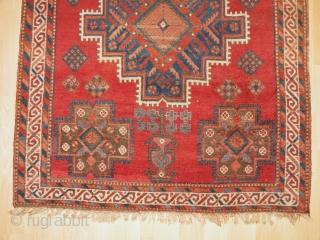 Antique Afshar rug 148x202 cm