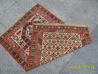 Antique Shirvan Marasali Carpet size:130x85 cm.