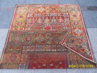 Antıque Anatolian Kırşehir Mucur Prayer Carpet size: 176x126 cm.