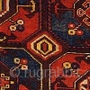 """Uzbek Carpet Central Asia Mid 19th Century 370 x 208 cm (12'2"""" x 6'10"""")  Asymmetrically knotted wool pile on wool and hand-spun cotton Carpets from the non-Turkoman populations of central Asia such as the Uzbeks, the  ..."""