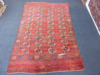 Antique Turkmen Tekke Main Rug