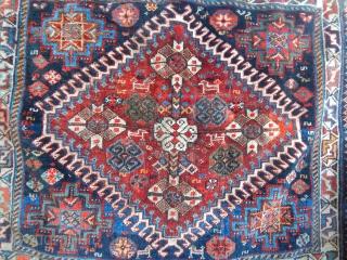 Old Qashqaii Bagface  size.53x64cm