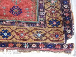 Antique Konya Karapınar Prayer Rug  size.135x112cm