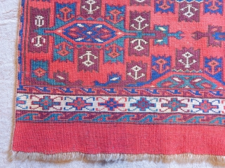 Antique Turkmen Yamut Mafrash