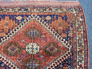 Old Qashqaii Bagface size.60x70cm
