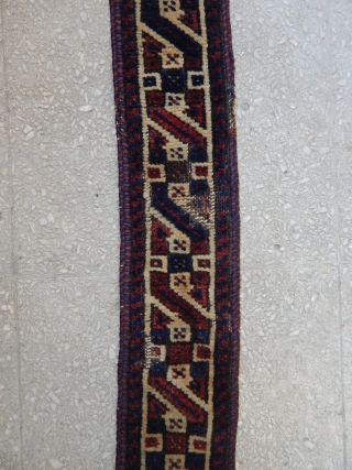 Antique Baluch Tendbant Panel  size.56x8cm