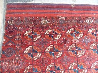 Antique Turkmen Tekke Main Rug