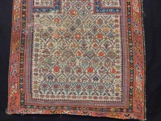 Antique Dagıstan Prayer Rug