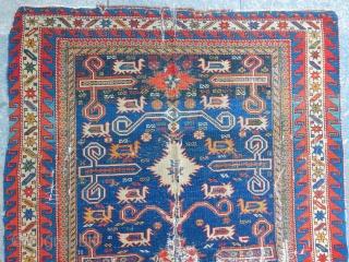 Antique Perepedil Sirvan Rug