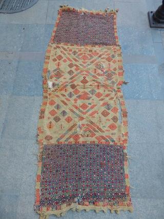 Old East Anatolian Saddlebag Kilim