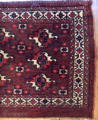Antique Turkmen Yamut Chuval