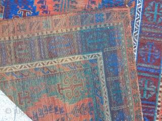 Antique Timuri Baluch Rug