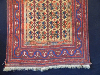 Antique Baluch Prayer Rug