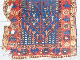 Antique Caucasian Avar Rug