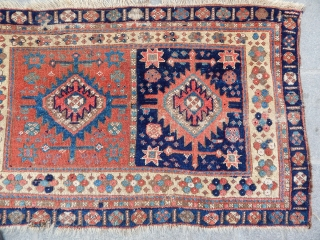 Antique Jaff Bag Face Rug
