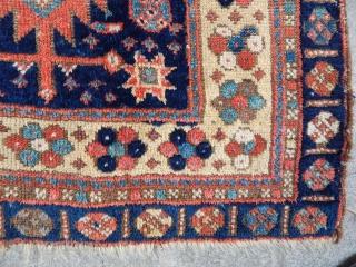 Antique Jaff Bag Face Rug
