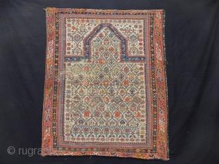 Old Caucasian Dagıstan Sirvan Rug