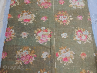Antique France Aubusson tapestry Fragment